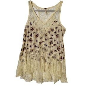Free People lacy tank